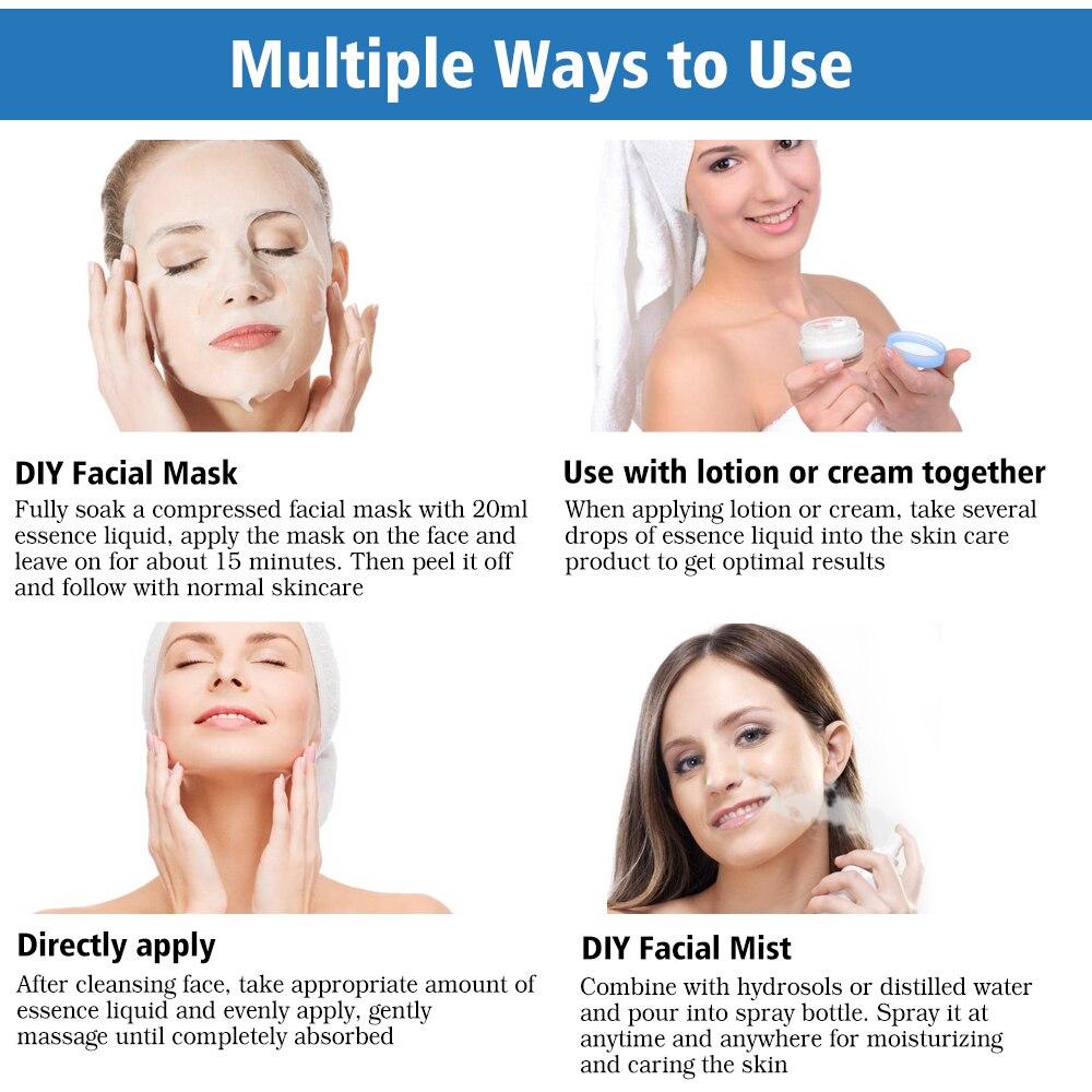 Hyaluronic Acid Serum Snail Serum Essence Acid Anti Wrinkles Face Acne Skin Repair Anti-Aging Moisturizing Whitening Skin Care  (6)