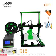 Anet E10 3D Printer DIY 3D Printer Kits Aluminum Alloy Frame Super Building Volume 3d Printing Machine with 8GB TF Card Filament createbot super mini light weight metal frame 3d printer kits single extruder touch screen not diy with 85 80 94mm build size