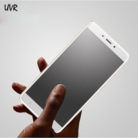 2PCS UVR For Xiaomi Redmi Note 4X Note 4 Global Version Snapdragon 625 Matte Frosted Tempered