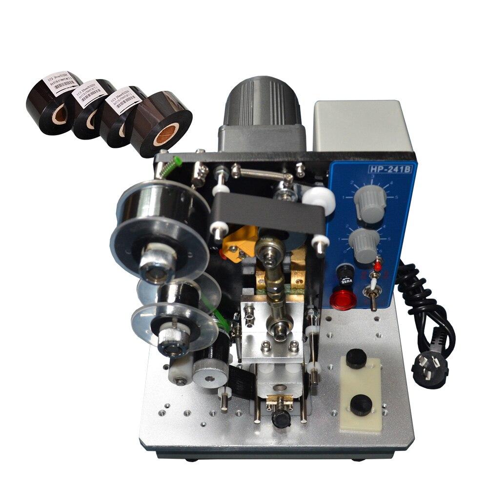 Aletler'ten Alet Parçaları'de 241B tipi sıcak baskı numaralandırma makinesi plastik poşetler title=