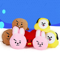 DOOLNNG Kpop Home Bangtan Boys BTS Monster Vapp Bt21 Same Pillow Warm Bolster Q Back Cushion