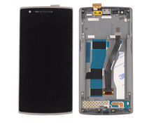 Lcd display screen+digitizer touch glass +frame Pantalla assembly For oneplus one 1 replacement screen free shipping