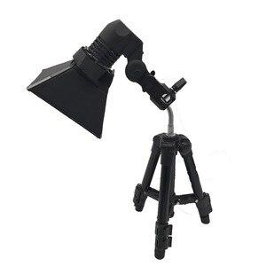 "Image 2 - Tycipy 14X10 ס""מ רך תיבת עם מעמד חצובה E27 מנורת תאורת ראש צילום וידאו סטודיו צילום אור מפזר Shoting"