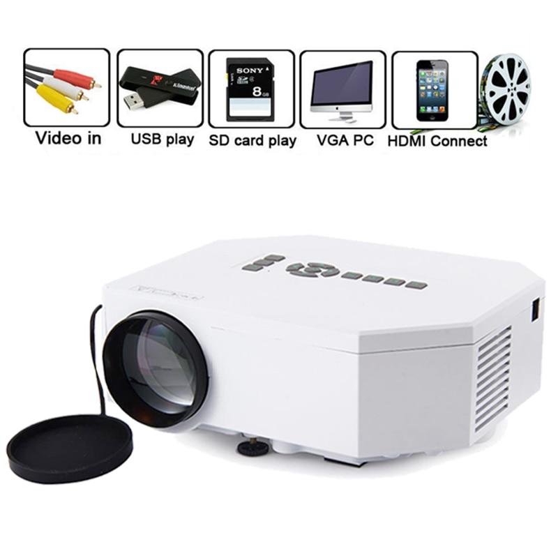 Lcd Projector Pc Av Tv Vga Usb Hdmi Hd 1080p Home Theater: Home Cinema Theater Beamer UC30 Portable Mini 1080P LED