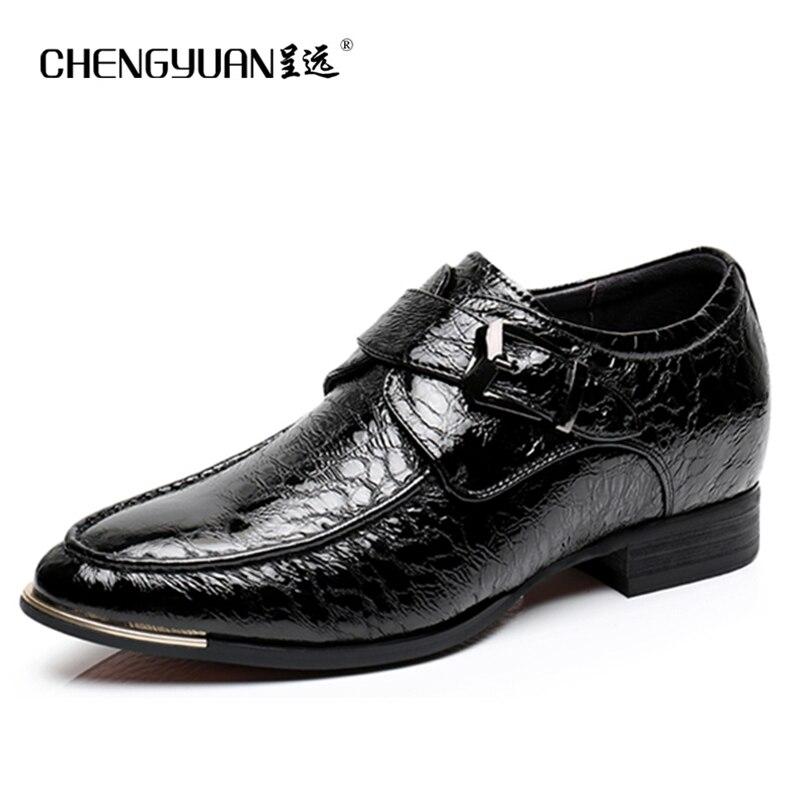 font b Mens b font 6cm increase leather font b shoes b font business point