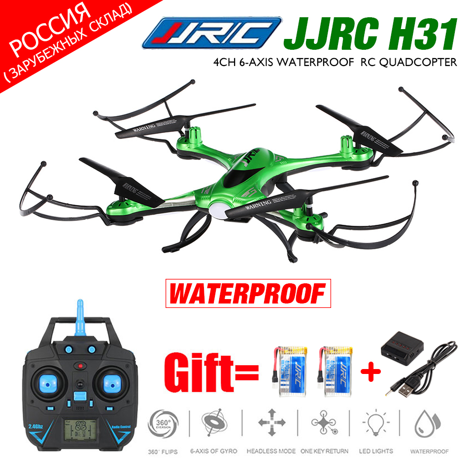 Waterproof Drone JJRC H31 FPV Drone with WiFi Camera Or 2MP Camera Or No Camera Headless Mode RC Quadcopter Helicopter Vs X5C jjrc h12wh wifi fpv with 2mp camera headless mode air press altitude hold rc quadcopter rtf 2 4ghz