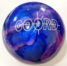 blue branded women professional bowling ball