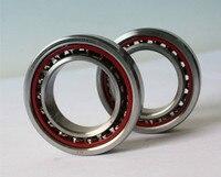 50mm Diameter Angular Contact Ball Bearings 7010 AC P5 50mmX80mmX16mm Contact Angle 25 ABEC 5 Machine