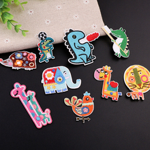 Embroidery patch Lovely auspicious cartoons Embroidered for embroidered clothing