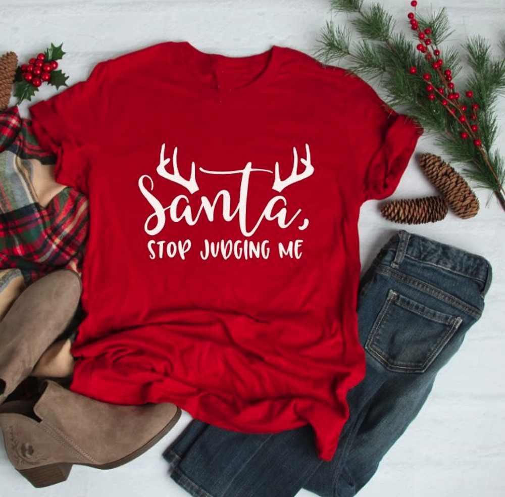 Funny Santa shirt Comfy Christmas t-shirt Funny Christmas shirt Unisex Shirt Santa Why You Be Judgin? shirt Christmas shirt