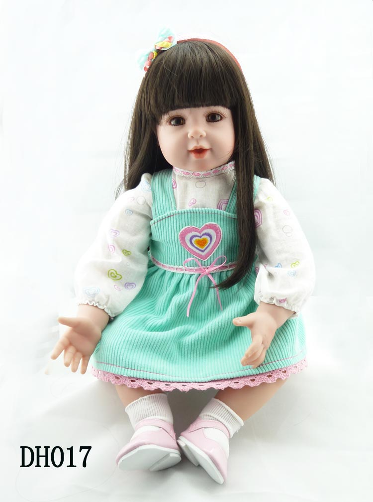 New arrival silicone vinyl reborn baby doll lifelike newborn toddler simulated doll princess brinquedos new year christmas gifts silicone reborn doll baby vinyl simulated baby doll princess doll toddler brinquedos birthday christmas new year boutique gifts