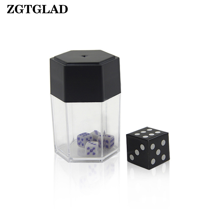 ZGTGLAD 1pcs Magic Big Explode Explosion Dice Close Up Trick Joke Prank Toy Party Gifts Party Favors