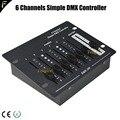 6 каналов  простой DMX контроллер  сценическое оборудование  DMX пульт дистанционного управления  портативная Консоль/контроллер DMX512  сценичес...