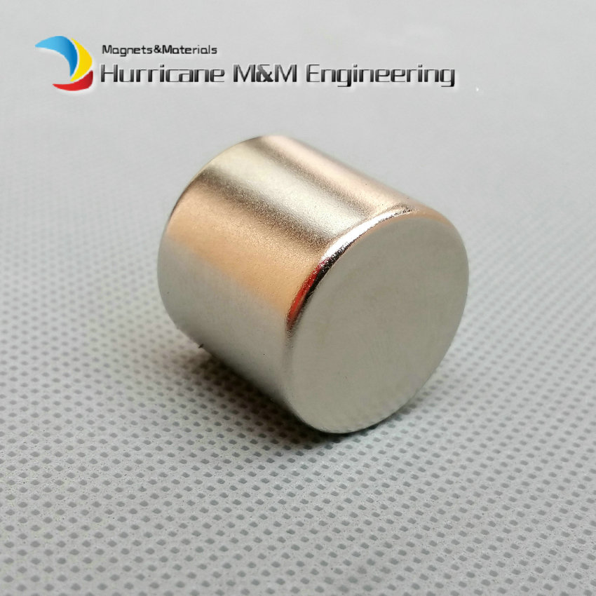 1 pack NdFeB Magnet Disc Dia. 22x20 mm 0.8 Cylinder Diametrically Magnetized Strong Neodymium Permanent Rare Earth Magnets 1 pack dia 6x3 mm jelwery magnet ndfeb disc magnet neodymium permanent magnets grade n35 nicuni plated axially magnetized