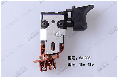 For Dewalt 152274-15,152274-19 12V-18V VSR Switch DW057,DW056,DW959,DC759,DW054 видеорегистратор vidstar vsr 1660