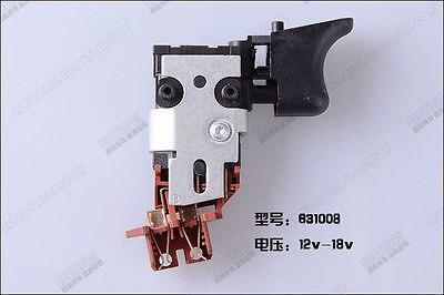 For Dewalt 152274-15,152274-19 12V-18V VSR Switch DW057,DW056,DW959,DC759,DW054 цена