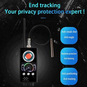 Image 5 - Anti Spy RF Detector Wireless Bug Detector Signal for Hidden Camera Laser Lens GSM Listening Device Finder Radar Radio Scanner