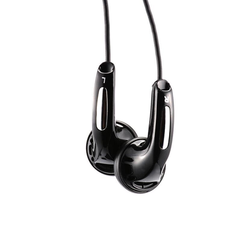 QianYun Qian25 Bass Earphone Gaming Headset Flat Head Plug Earbud HIFI Music Earphones Sports Earbuds For Iphone For Samsung