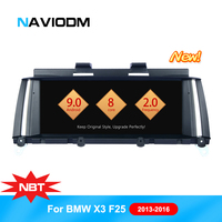 Android 9.0 Auto Car Multimedia Player For BMW X3 F25 X4 F26 (2011 2013) Original NBT System GPS BT Car DVD Player 8Core LTE 4G