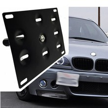 YEAHGOOD License Plate Hold Mount Tow Hook Bracket Relocator Frame Universal TH010D