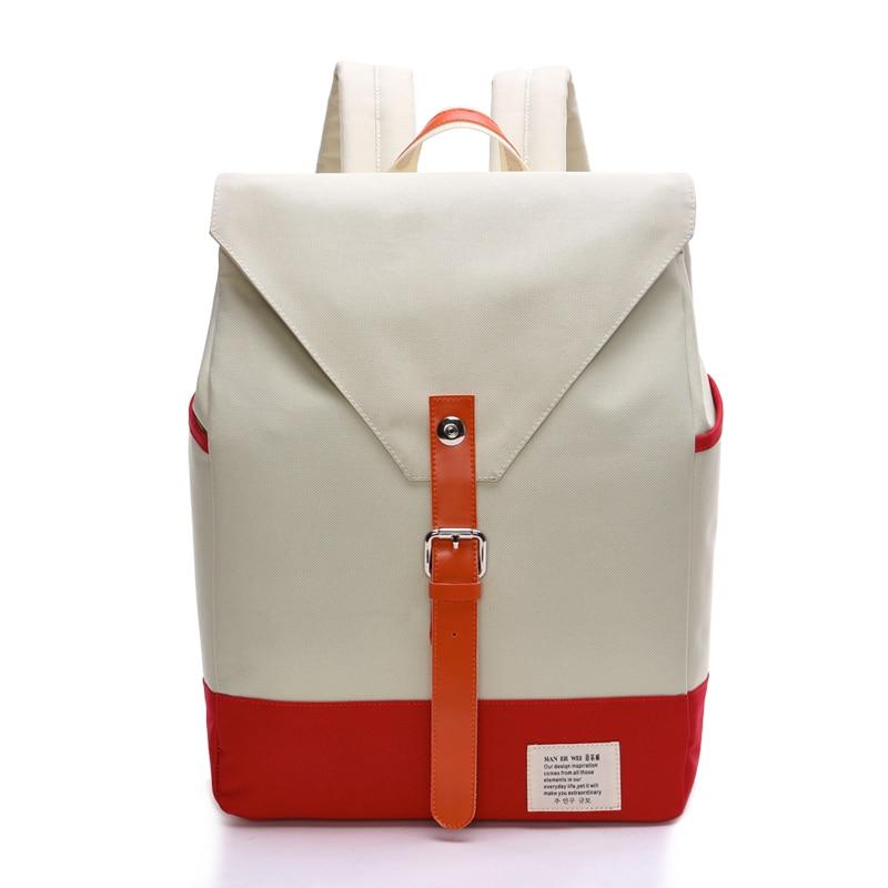 Girls School Bags Canvas Backpack Bagpack Korean Style Shoulder Young Woman Rucksack