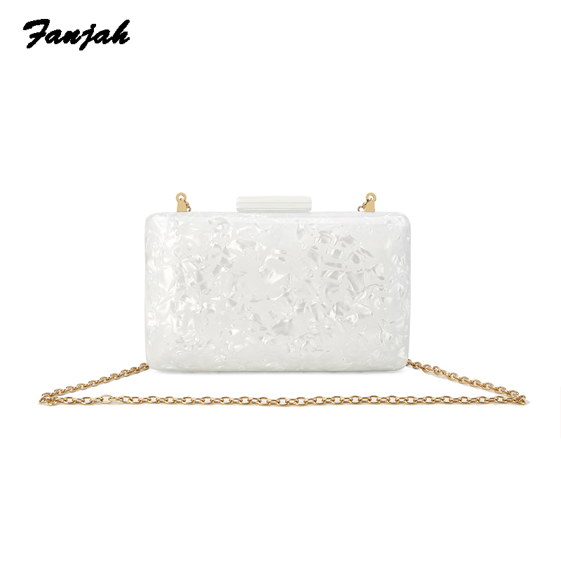 2018 Women acrylic bag new brand wallet fashion designer handbag Luxury Woman evening bag party Prom shoulder bags Casual Clutch luxury women bags designer evening party bag for female striped clutch bag acrylic mini handbag famous brand chain crossbody bag