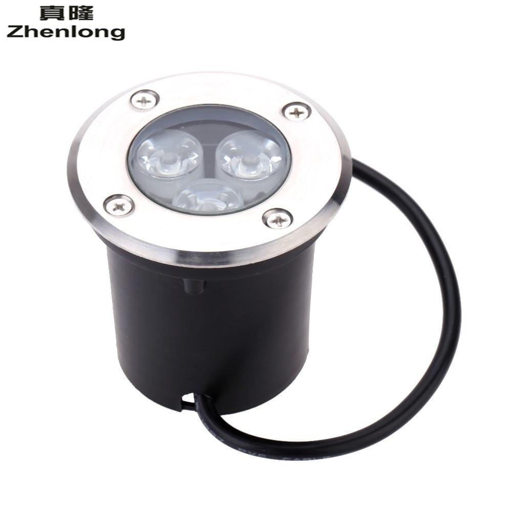 Waterproof IP67 LED Buried Lights 12V 110V 220V Recessed Step Lamps Patio Paver Plinth O ...