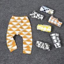Garçons Pantalon Enfants Sport Pantalon Caractère Animal Géométrie Imprimer Bébé Harem Pantalon Filles Lâche Leggings Enfant En Bas Âge Pantalon