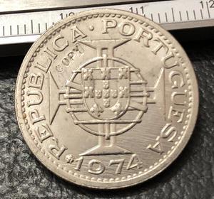 1974 Angola 5 Escudos Copy Coin(China)