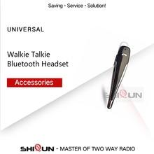 Wireless Walkie TalkieชุดหูฟังบลูทูธหูฟังสำหรับMotorola KENWOODชุดหูฟังBaofeng UV 5R UV 82 หูฟังBaofengอุปกรณ์เสริม