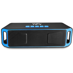 Image 5 - portable speaker with fm radio soundbox music player subwoofer phone bluetooth speaker wireless system with microphone