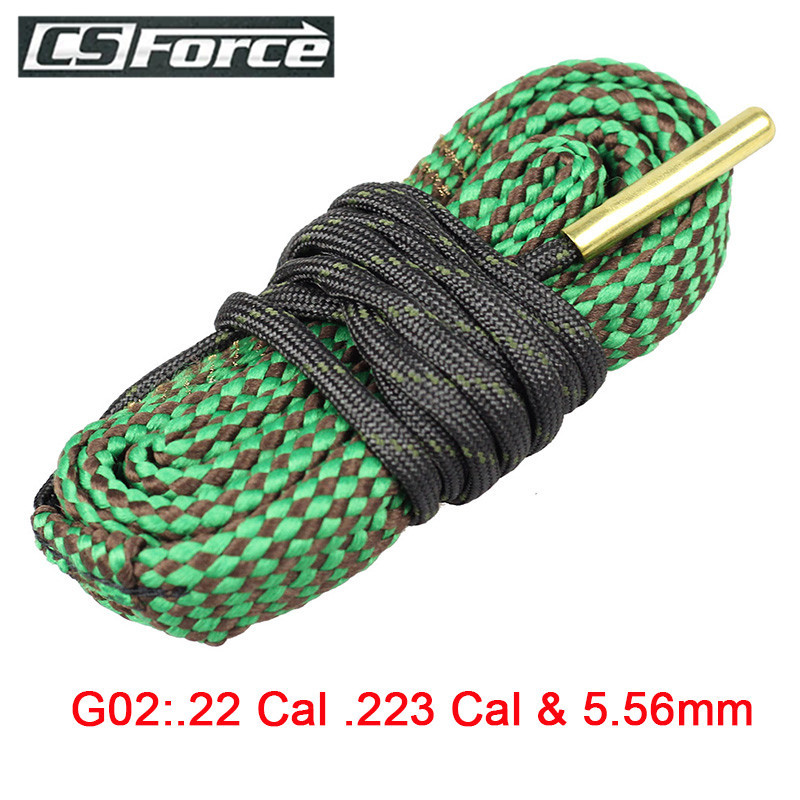 Hunting Gun Bore Cleaner Snake.22 Cal.223 Cal.38 Cal.357 Cal & 5.56mm,9mm,7.62mm,4.5mm Calibre Snake Rope Rifle Cleaning Barrel nyx professional makeup матовая губная помада matte lipstick goal digger 45