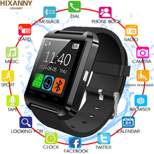 Smartwatch Bluetooth Men Smart Watch U8 For iPhone IOS Android Phone Wear Clock Wearable Device PK GT08 DZ09