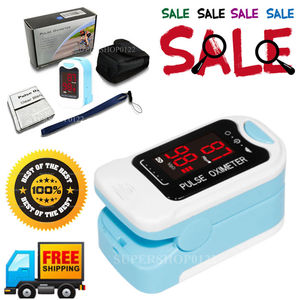 CMS50M-Finger-Tip-Pulse-Oximeter-Blood-Oxygen-Monitor-SPO2-PR-HR--Gift(China)