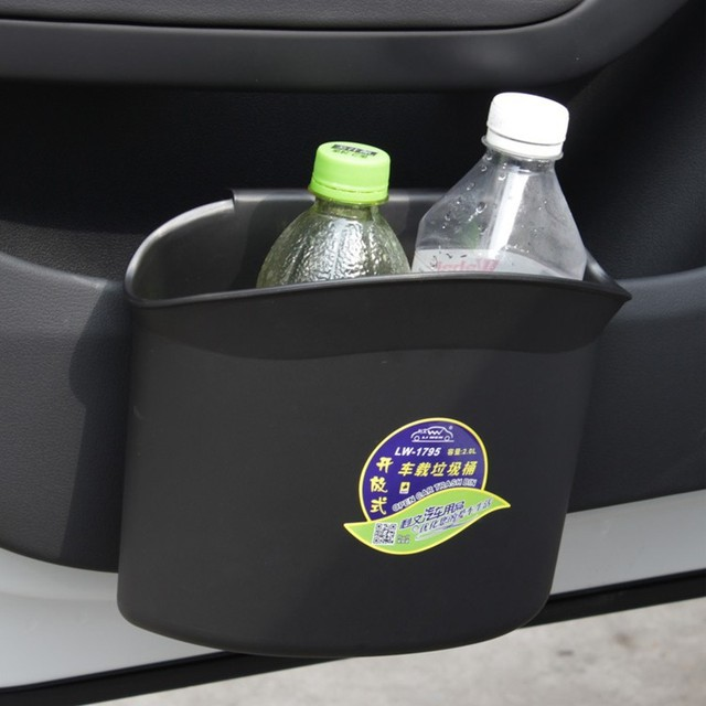 New Car Styling Car Trash Rubbish Bin Dust Case Holder Box Accessories For Infiniti  Fx35
