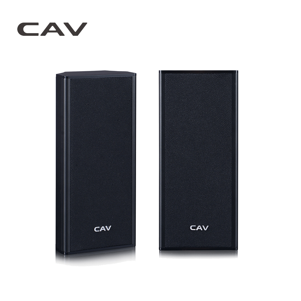 CAV AL20 Wall-Mounted Speaker Home Theater Passive Speaker High Quality Easy Setup Mini System AUX Sealed Wall-Surround Speakers mymei groupie mini speaker portable bluetooth mp3 no high fidelity high wire subwoofer active low outdoors free music speaker for