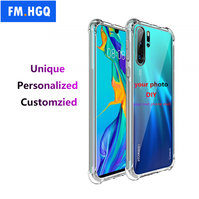 timeless design c30ef 6c2f6 US $3.67 8% OFF|Custom phone case for Huawei P30 P20 Pro P30 Lite Honor V20  V10 10 Print Photo Name pictures Design Soft TPU Phone Cover Coque -in ...