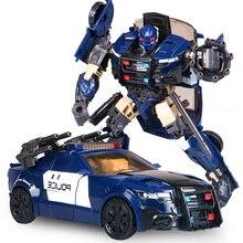 BMB dönüşüm G1 barikat TF5 polis araba modeli voyager boy aksiyon figürü oyuncakları