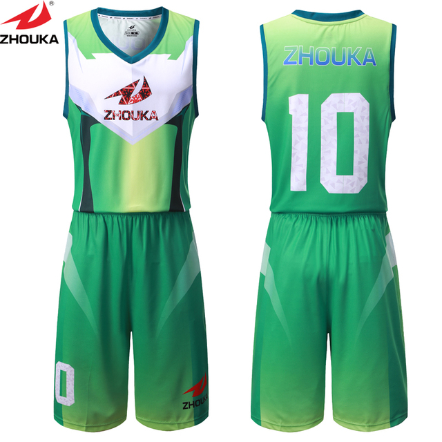 Unique Basketball Design Jersey Sublimation Basketball Uniform To