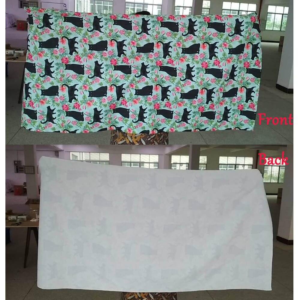 HUGSIDEA Bath towels Adults Sports Cotton Soft Large Bath Towel 75 150cm Dachshund Flowers Dog Pattern Beach Surfing Towels in Bath Towels from Home Garden