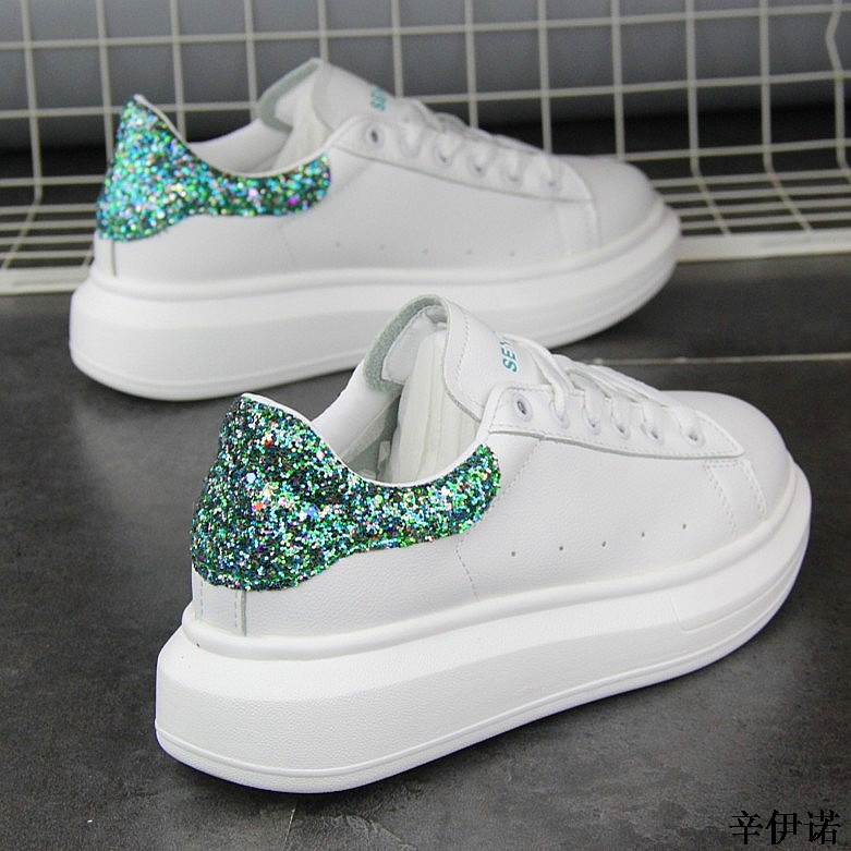 New Fashion Vulcanize Shoes Trainers Women Sneakers Casual Shoes Basket Femme PU Leather Tenis Feminino Zapatos Mujer Plataforma 52