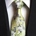 Mantieqingway Marca Tie Paisley Floral Jacquard Lazos para Los Hombres de La Boda Traje de Novio de la Corbata de Negocios Gravata Corbata Lazos De Flores