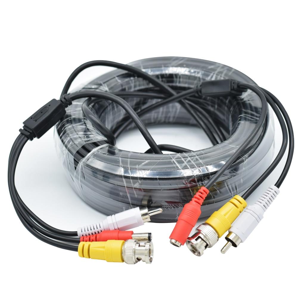 BNC DC RCA Line for CCTV Camera Video Audio Power for Surveillance Camera DVR