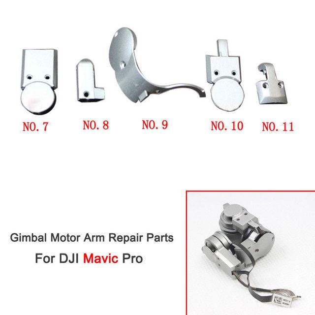 Original DJI Mavic Pro Gimbal Camera Motor Arm Cover Piece with Screws Repair Part 5 Models For Replacement