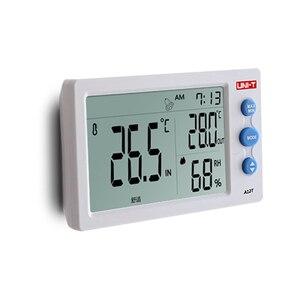 Image 5 - UNI T a12t digital lcd termômetro higrômetro temperatura medidor de umidade despertador estação meteorológica ao ar livre indoor instrumento