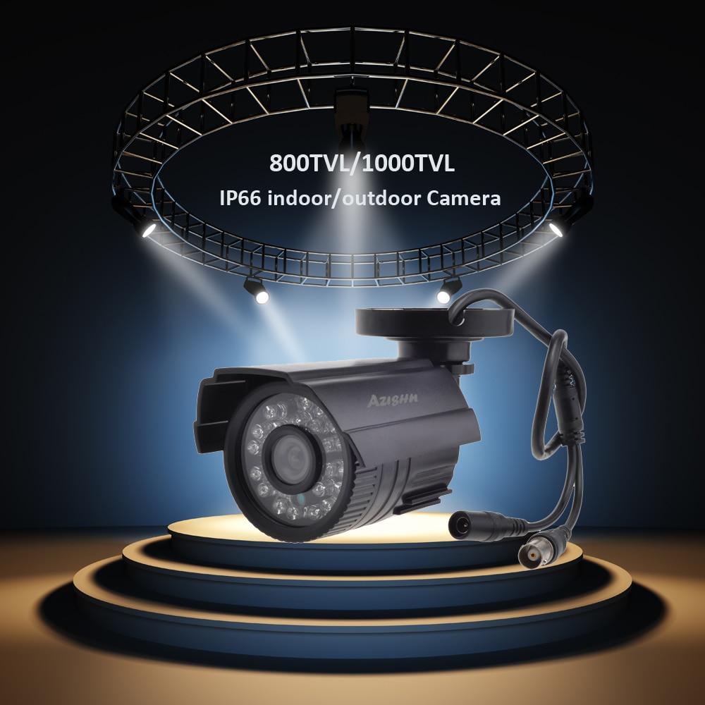 HTB1cGuWNVzqK1RjSZFvq6AB7VXar AZISHN CCTV Camera 800TVL/1000TVL IR Cut Filter 24 Hour Day/Night Vision Video Outdoor Waterproof IR Bullet Surveillance Camera