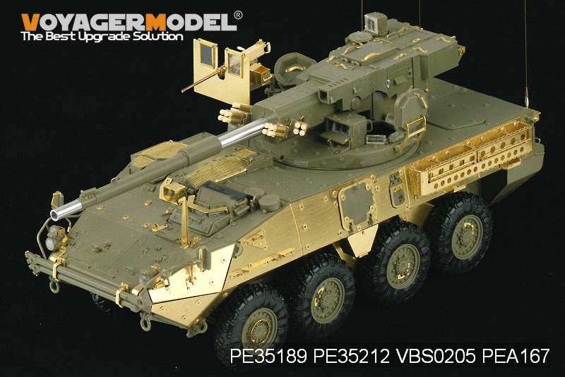 Voyager model PE35189 1/35 Modern US Army M1128 MGS (For AFV CLUB 35128) voyager pe35419 1 35 modern us m1a2 tusk2 abrams detail set for dragon 3536