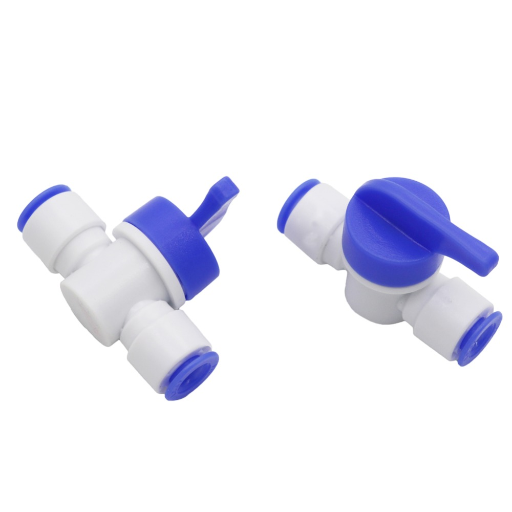 us $2.43 27% off slip lock quick connect ball valve pneumatic pipe  connectors fittings garden irrigation 1/4 inch hose joint valve 4 pcs-in  garden