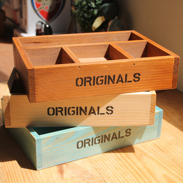 Decorative Display Boxes Magnificent Vintage Retro Storage Boxes Handmade Wooden Box Plant Tray 2018