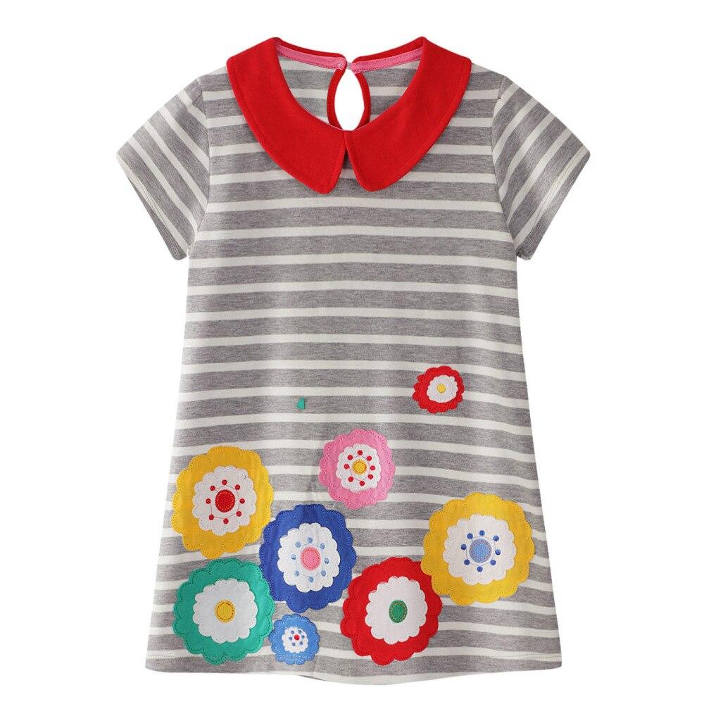 Dziewczynki Letnia sukienka Enfant Princess Dress Kostiumy dla dzieci - Ubrania dziecięce - Zdjęcie 3